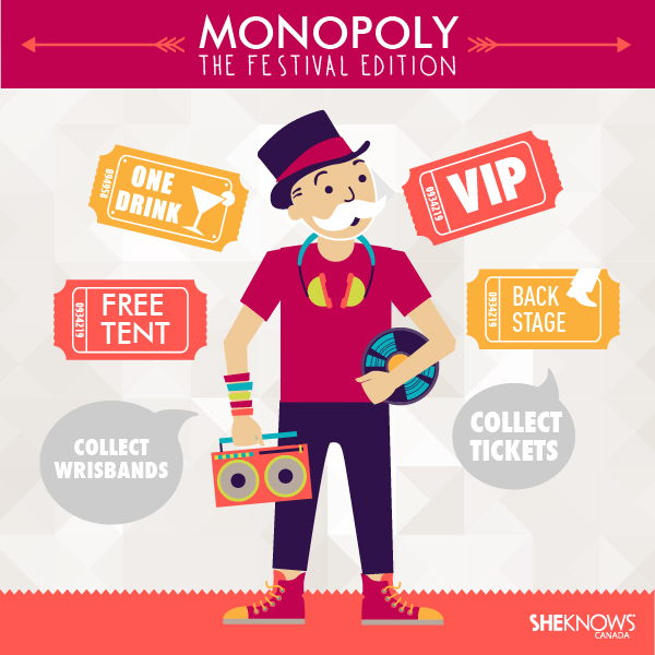 Monopoly: The Festival Edition by SheKnows