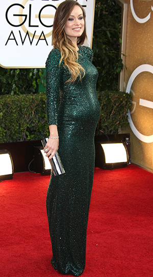 Olivia Wilde at the 2014 Golden Globes