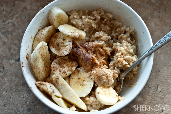 Creamy vegan peanut butter oatmeal recipe