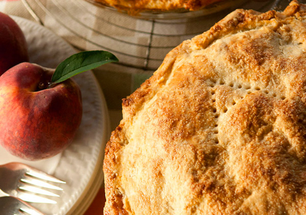 Joyce Maynard's Labor Day peach pie recipe