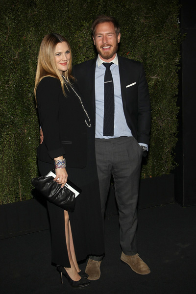 Pregnant Drew Barrymore and Will Kopelman