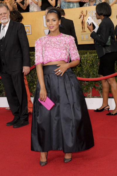 Pregnant Kerry Washington SAG Awards
