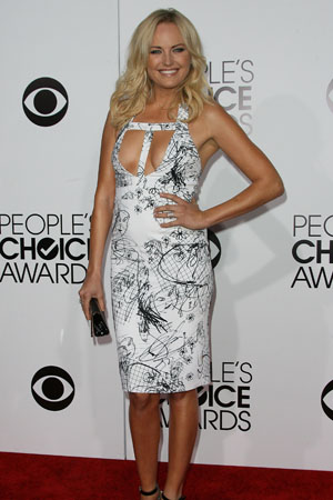 Malin Akerman at the 2013 People's Choice Awards