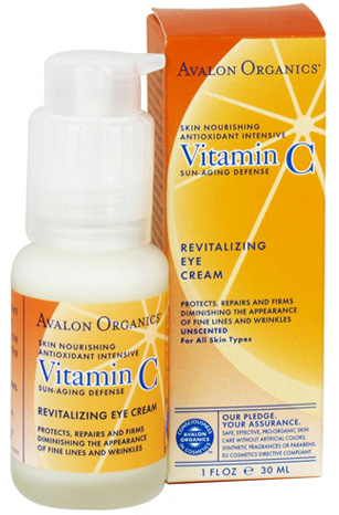 Product review: Avalon Organics Vitamin C Renewal Revitalizing Eye Cream