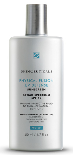 Skinceuticals Physical Fusion UV Defense SPF 50 (skinceuticals.com, $34)