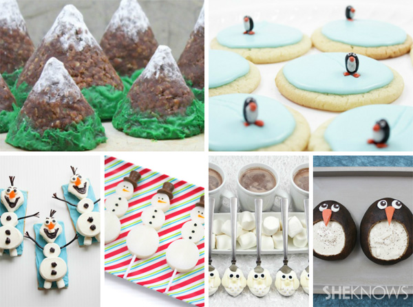 Festive winter food crafts from SheKnows.com