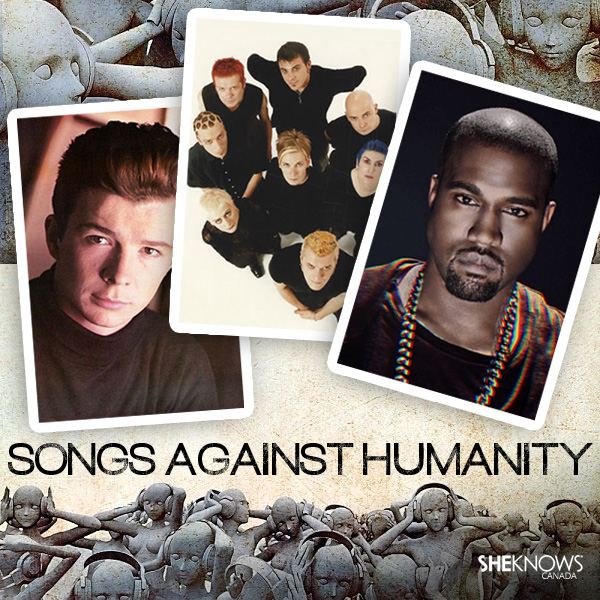 Songs Against Humanity by SheKnows