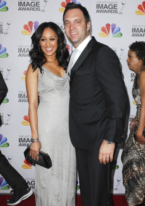 Tamera Mowry and husband