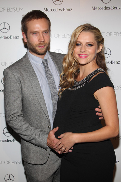 Pregnant Teresa Palmer and Mark Webber
