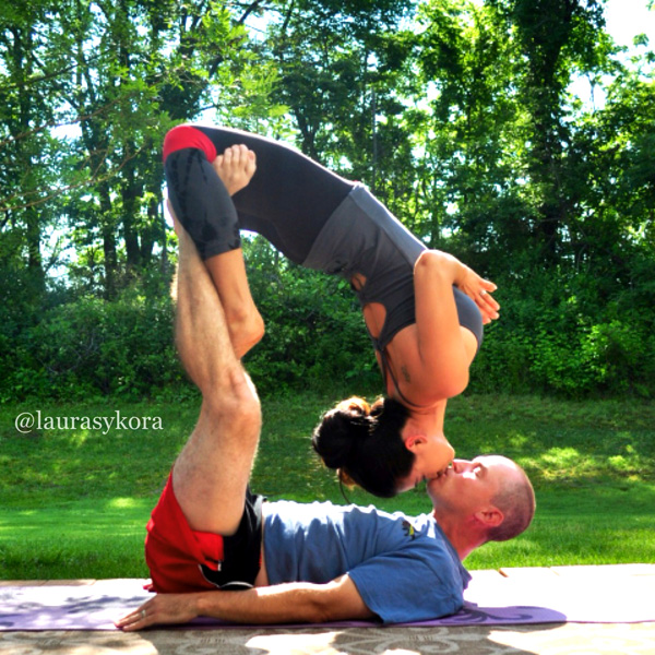 Yoga for two, please