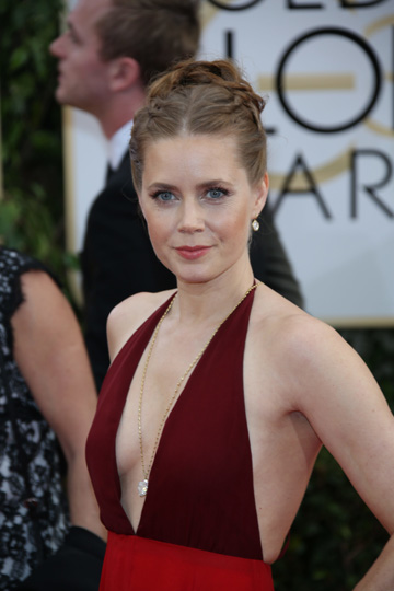 Amy Adams at the 2014 Golden Globes