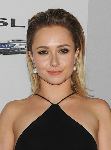 Hayden Panettiere at the 2014 Golden Globes