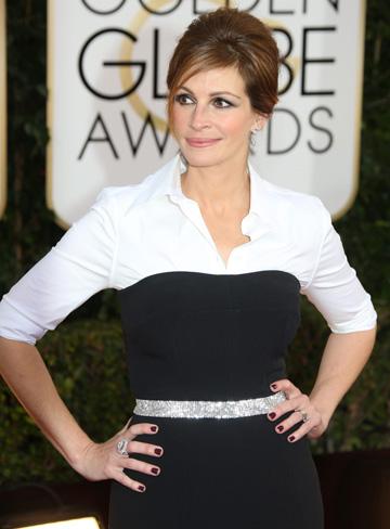 Julia Roberts at the 2014 Golden Globes
