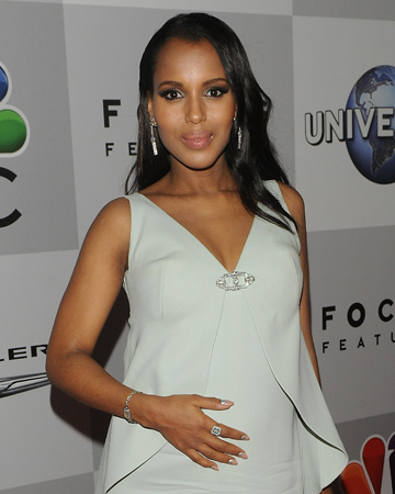 Kerry Washington at the 2014 Golden Globes