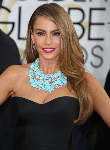 Sofia Vergara at the 2014 Golden Globes