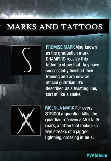 Dhampir with the Molnija tattoo