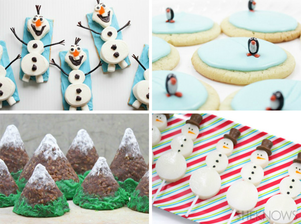 Winter food crafts from SheKnows.com