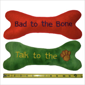 Personalized squeaky toys