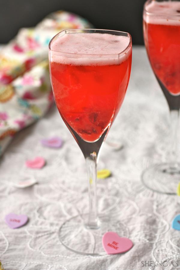 Crimson cranberry Bellini