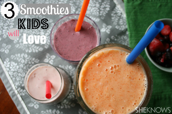 Healthy smoothies kids will enjoy | Sheknows.com