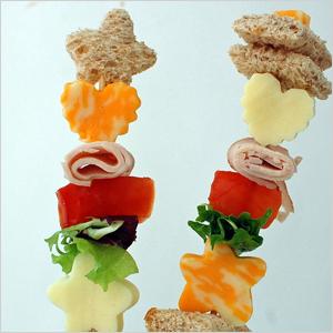 Sandwiche on stick | Sheknows.com