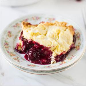 Lemon blackberry cobbler | Sheknows.com
