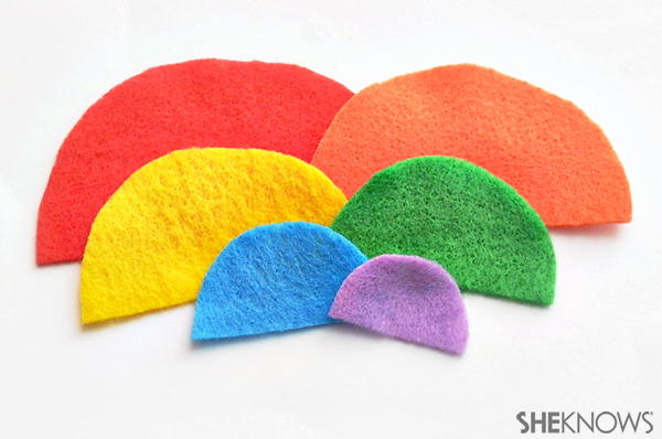 St. Patrick's day magents | Sheknows.com - Rainbow pieces