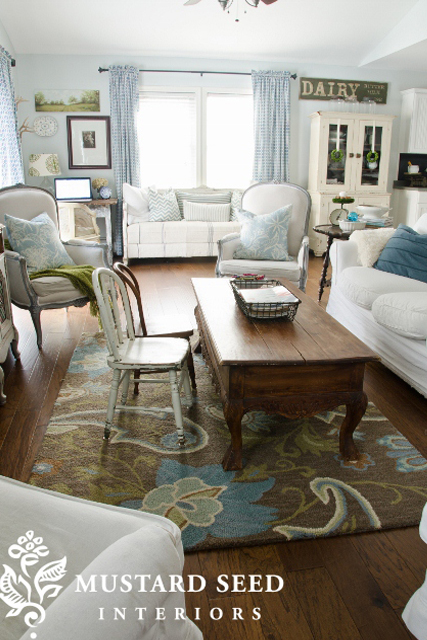 Miss Mustard seed family room | Sheknows.com