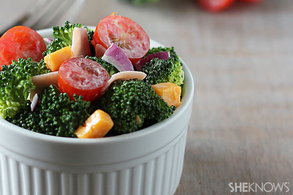 Hearty broccoli salad | Sheknows.com - final prodcut