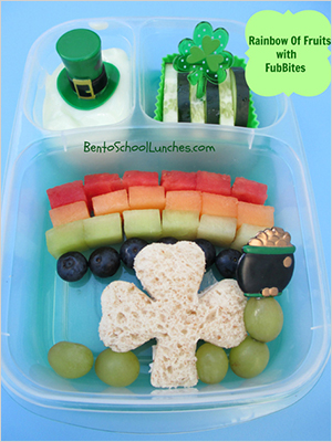 Irish luck in your child's lunchbox