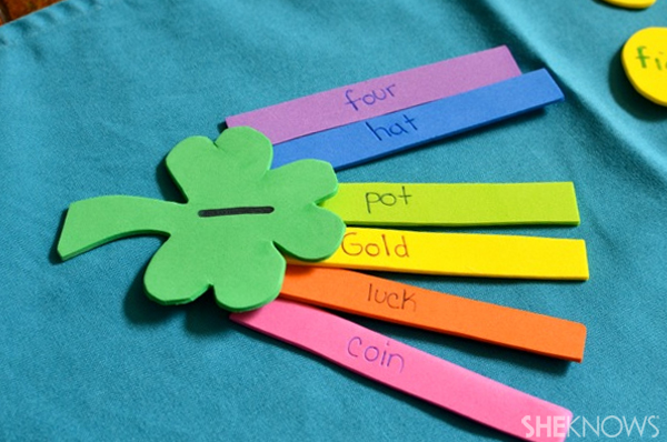 Fun learning with shamrocks and gold