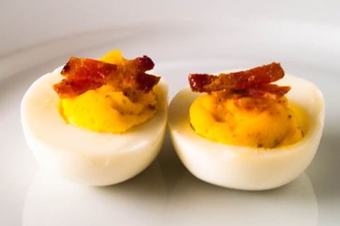 Bacon deviled eggs | ChefMom.com