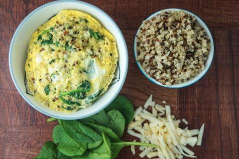 Quinoa Breakfast Egg in a mug   ChefMom.com