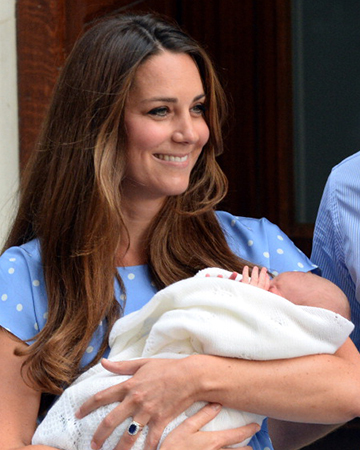 Catherine, Duchess of Cambridge with son | Sheknows.com