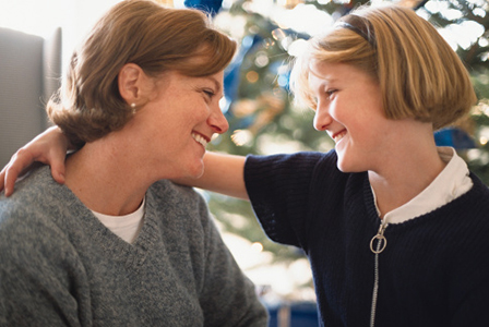 Mother and daughter talking | Sheknows.com