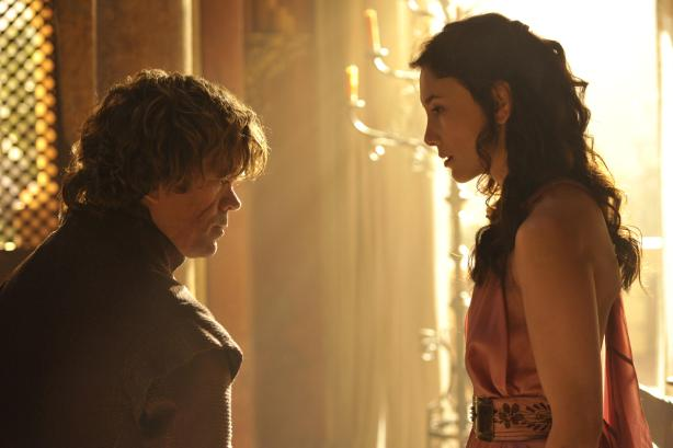 Tyrion and Shae in Game of Thrones Season 4