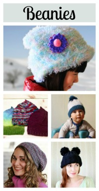 5 knit beanie tutorials