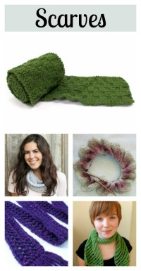 5 knit scarf tutorials