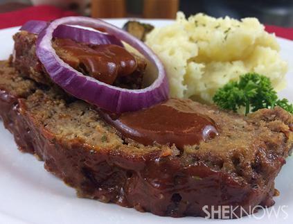 Slow-cooker meatloaf