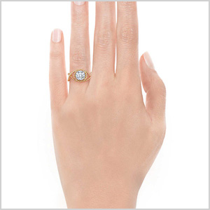 Fancy tiffany engagment ring