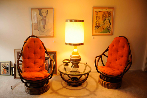use unique vintage finds in home decor