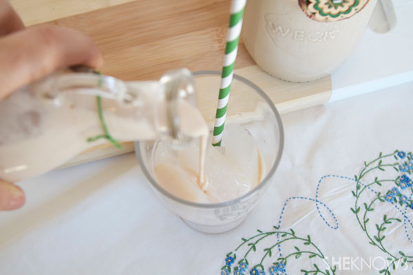 Homemade Irish Cream Step 2: Serve