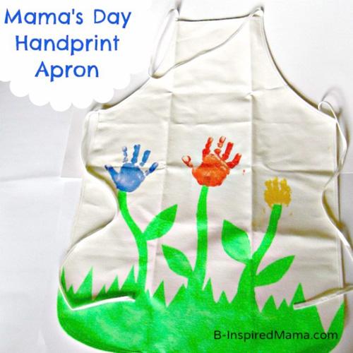Handprint apron