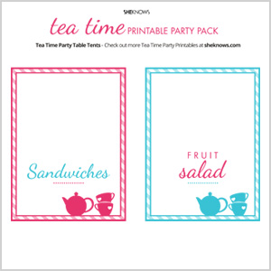 Throw a tea party fit for a queen!