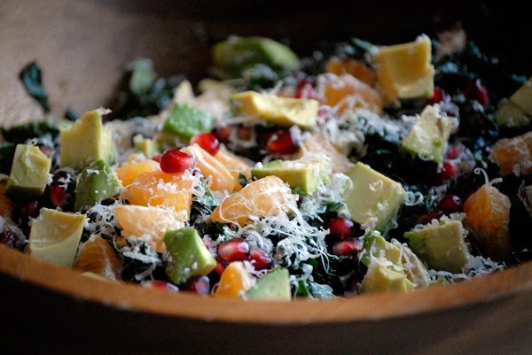 Christmas Kale Salad