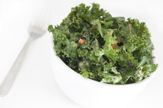 Quick Kale Salad