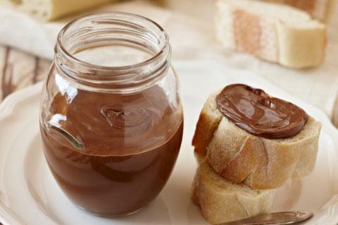 2. Chocolate hazelnut spread