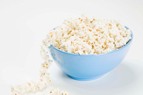 10. Natural popcorn