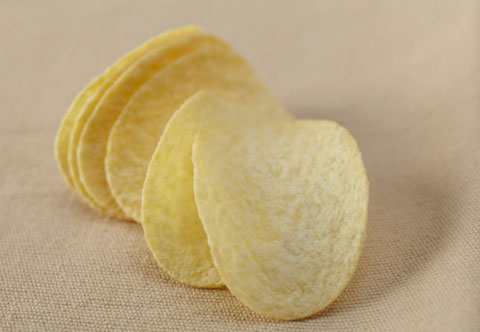 12. Low-fat chips