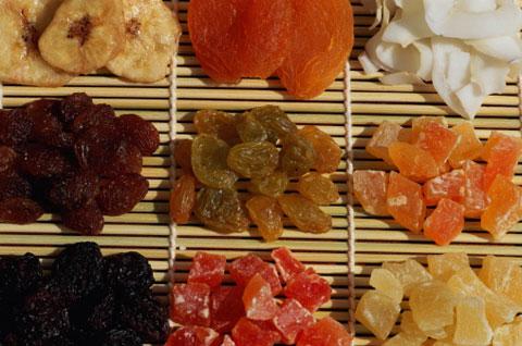 8. Dried fruit
